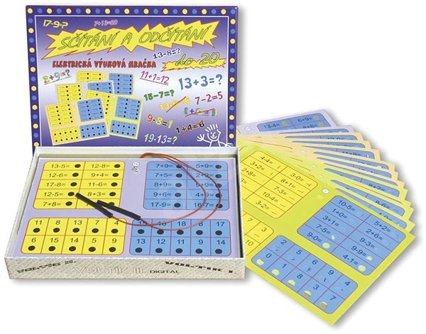 Sčítání a odčítání  - Vědomostní hra
