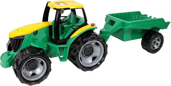 Lena Traktor plast bez lžíce a bagru s vozíkem - Auto