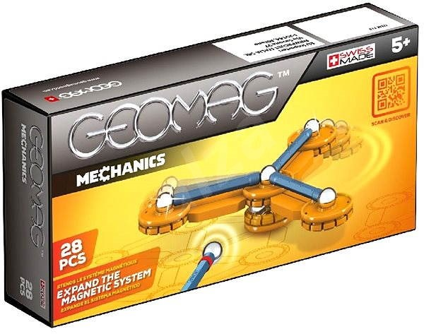 Geomag - Mechanic 28 dílků - Magnetická stavebnice