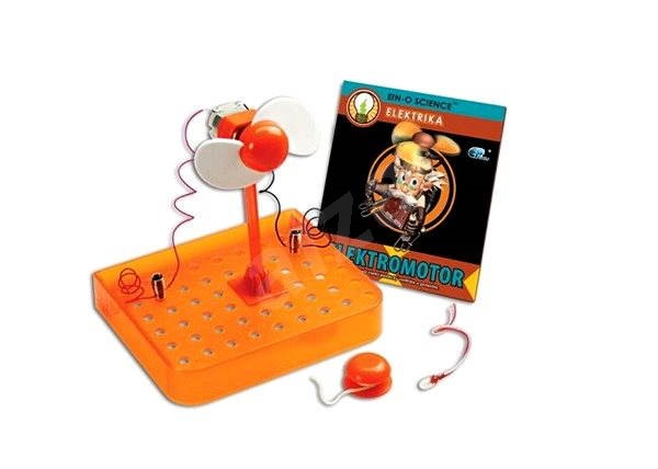EIN-O - Elektrika elektromotor - Didaktická hračka