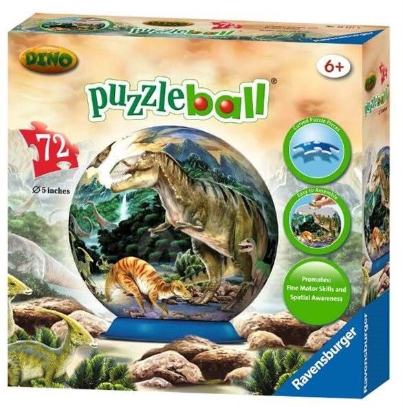 Ravensburger 3D Puzzleball - Dinosauři - Puzzle