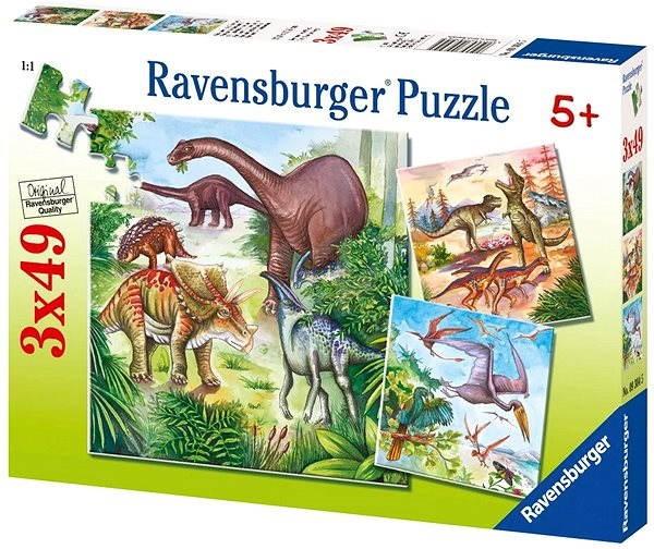 Ravensburger Fascinující dinosauři - Puzzle