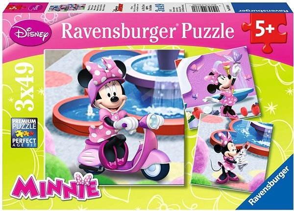 Ravensburger Minnie v parku - Puzzle