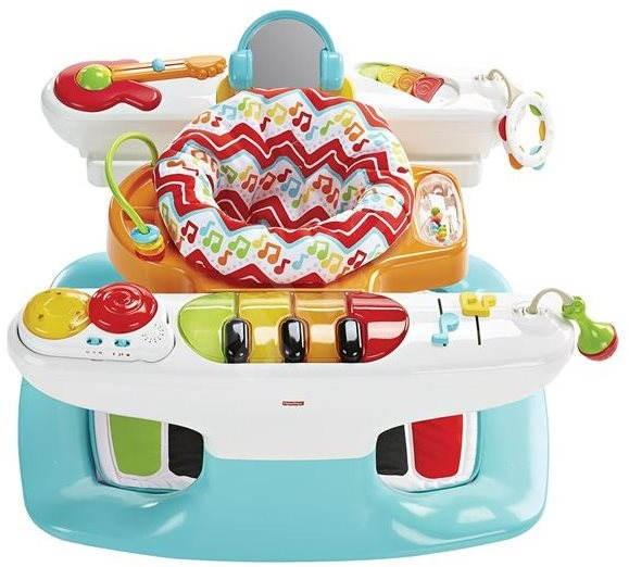 Fisher-Price - Klavír rostoucí spolu s dítětem 4v1 - Interaktivní hračka