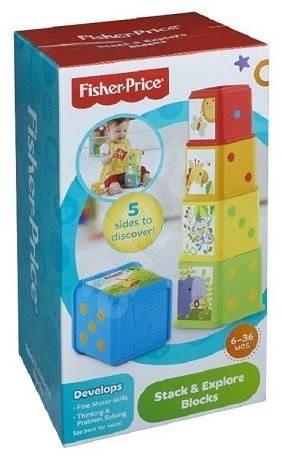 Fisher-Price Zvířatková věž - Didaktická hračka