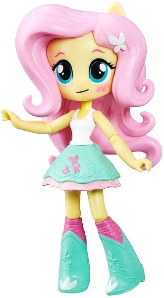 My Little Pony Equestria Girls - Malá panenka Fluttershy s doplňky - Panenka