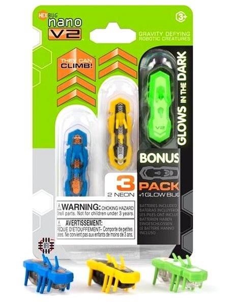 HEXBUG Nano V2 3 pack - Mikrorobot