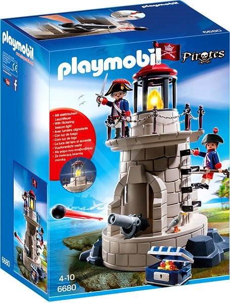 Playmobil 6680 Vojenská věž s majákem - Stavebnice