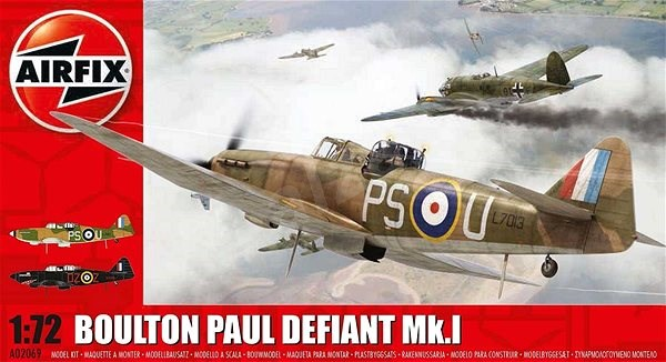 Classic Kit letadlo A02069 - Boulton Paul Defiant - nová forma - Model letadla