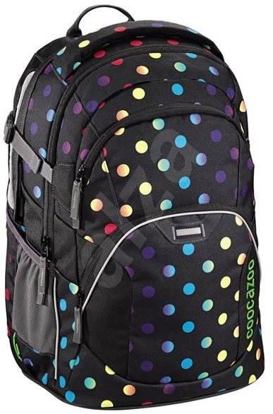 84189b3fda1 CoocaZoo EvverClevver2 Magic Polka Colorful - Školní batoh