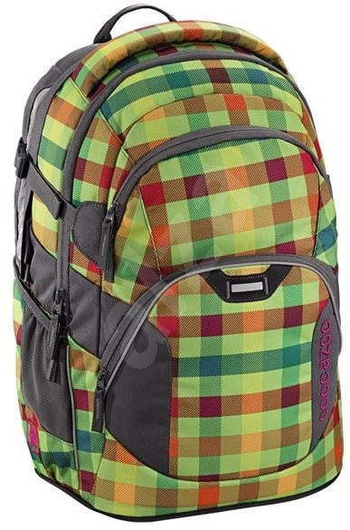 CoocaZoo JobJobber Hip To Be Square Green - Školní batoh  e33630ae95