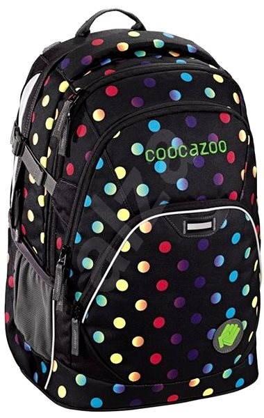 785d6143c29 CoocaZoo JobJobber Magic Polka Colorful - Školní batoh