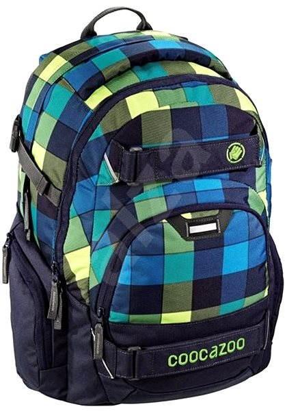 CoocaZoo CarryLarry2 Lime District - Školní batoh  57f4fec718