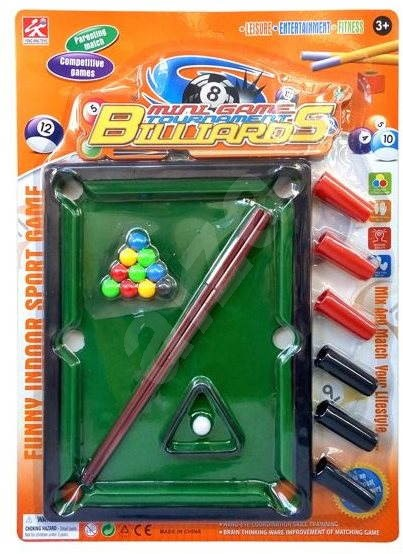 Mini kulečník - Herní set