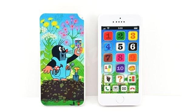 Krtkův naučný mobil - Interaktivní hračka