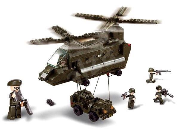 Sluban Army - Přepravní vrtulník - Stavebnice