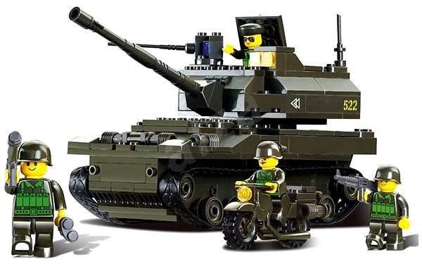 Sluban Army - Tank - Stavebnice