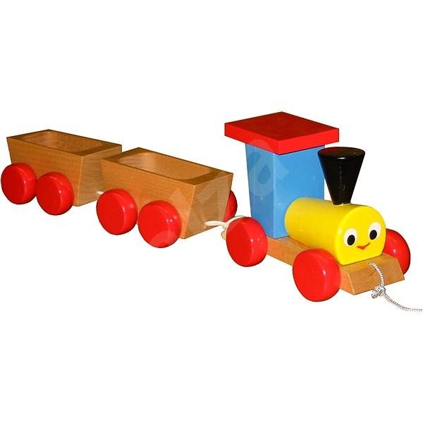 Miva Tahací vlak s vagónky - Herní set