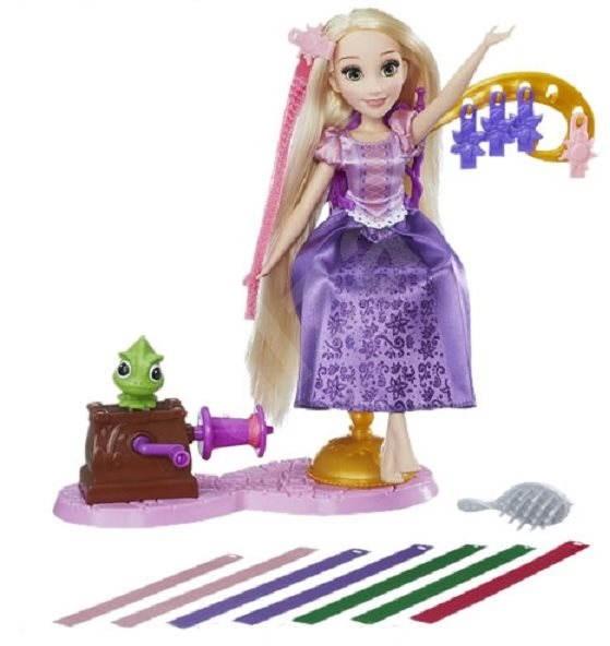 Disney Princess - Panenka Rapunzel s extra dlouhými vlasy - Panenka