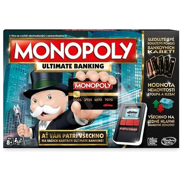 Monopoly Ultimate Banking CZ - Společenská hra