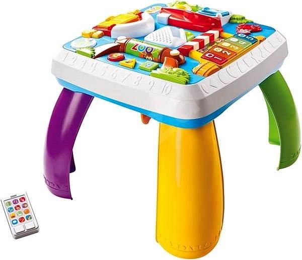 Fisher-Price Pejskův stoleček Smart Stages CZ/EN - Didaktická hračka