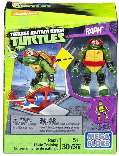 Mega Bloks Želvy Ninja - Trénink v doupeti Raph - Stavebnice