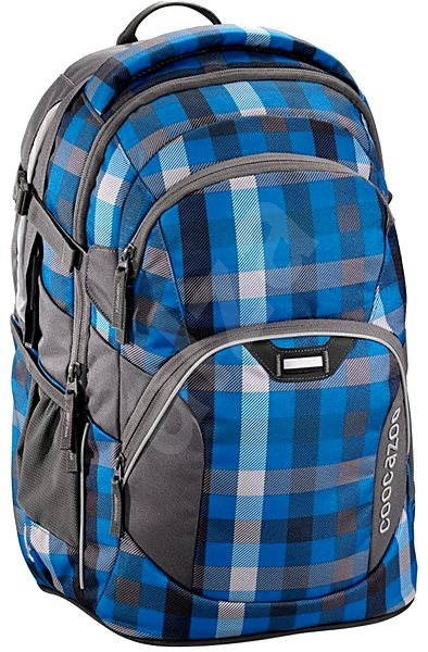 f0624d7372f CoocaZoo JobJobber Hip To Be Square Blue - Školní batoh
