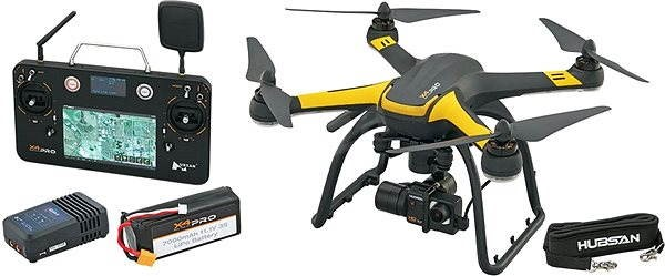 Hubsan X4 Pro Deluxe  - Dron