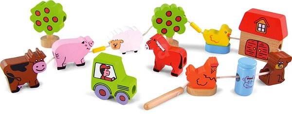 Provlékání farma - Didaktická hračka