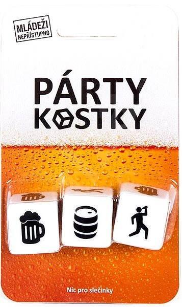 Párty kostky - Společenská hra