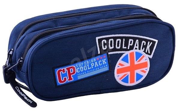 CoolPack Clever Badges blue - Penál