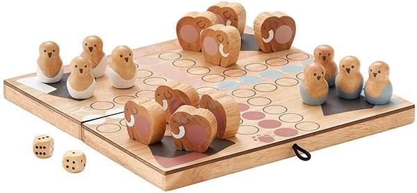 Člověče nezlob se dřevěné Neo - Společenská hra
