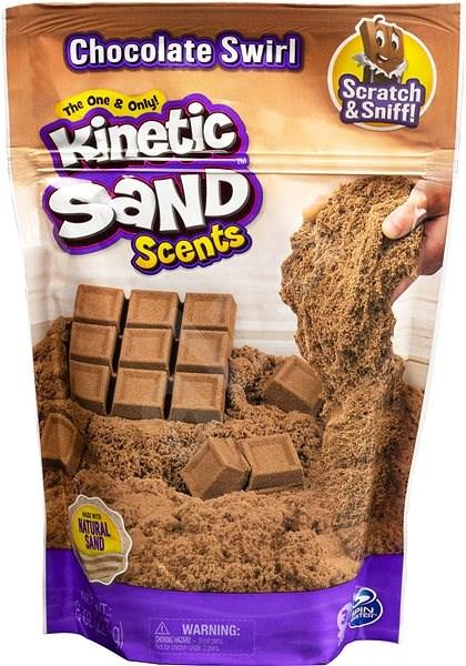Kinetic Sand Fragrant Liquid Sand - Chocolate - Creative Kit