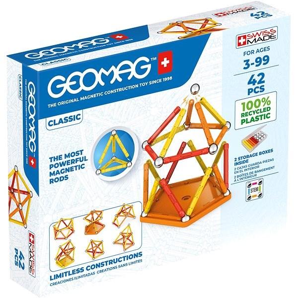 Geomag Classic 42 - Magnetická stavebnice