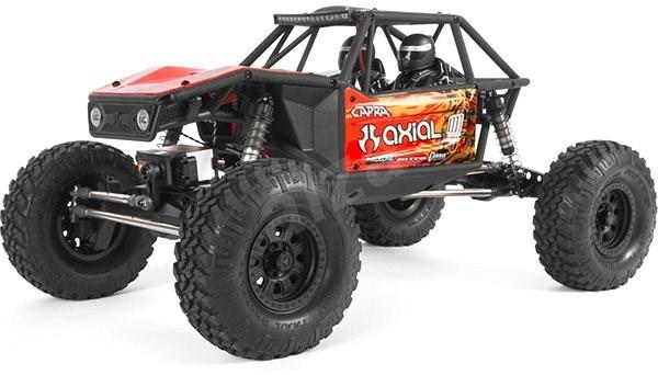 Axial Capra 1.9 4WD 1:10 RTR červená - RC auto na dálkové ovládání