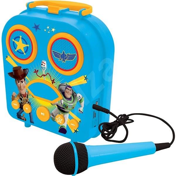 Lexibook Toy Story Přenosné karaoke s mikrofonem - Hudební hračka