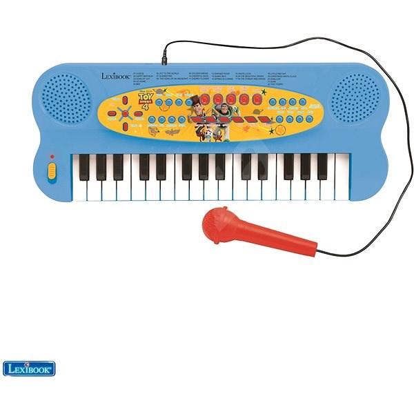 Lexibook Toy Story Elektrické klávesy s mikrofonem (32 kláves) - Hudební hračka