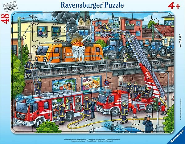 Ravensburger  050932 Požární sbor 48 dílků - Puzzle