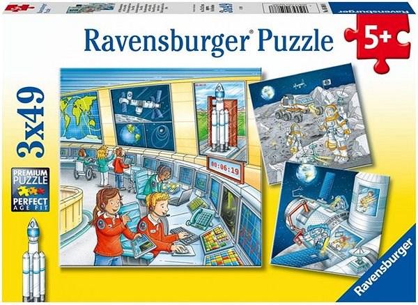 Ravensburger  050888 Astronauti 3x49 dílků - Puzzle