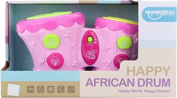 Baby bubínky na baterie - Hudební hračka