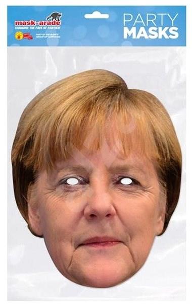 Angela Merkel - maska celebrit - Doplněk ke kostýmu