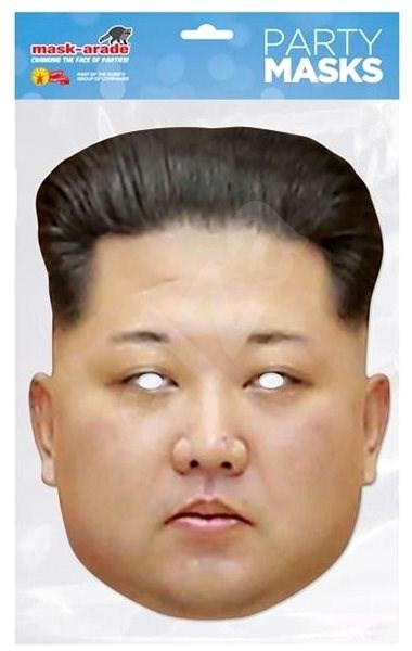 Kim Jong - maska celebrit - Doplněk ke kostýmu