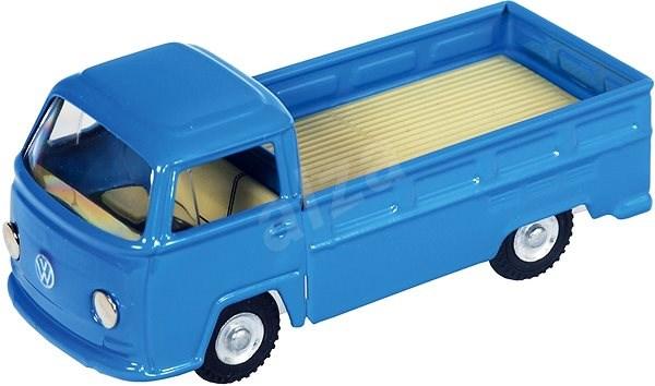 Kovap Dodávka VW T2 valník modrý - Kovový model