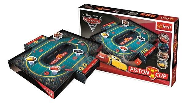 Trefl Piston Cup Auta/Cars 3 Disney společenská hra - Společenská hra