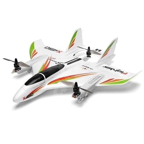 X450 Aviator 3D parallel Aerobatic VTOL s vertikálním startem - RC Letadlo