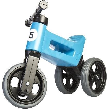Funny Wheels New Sport 2v1 - modré  - Odrážedlo