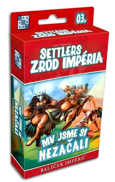 Settlers: Zrod impéria - My jsme si nezačali - Rozšíření společenské hry