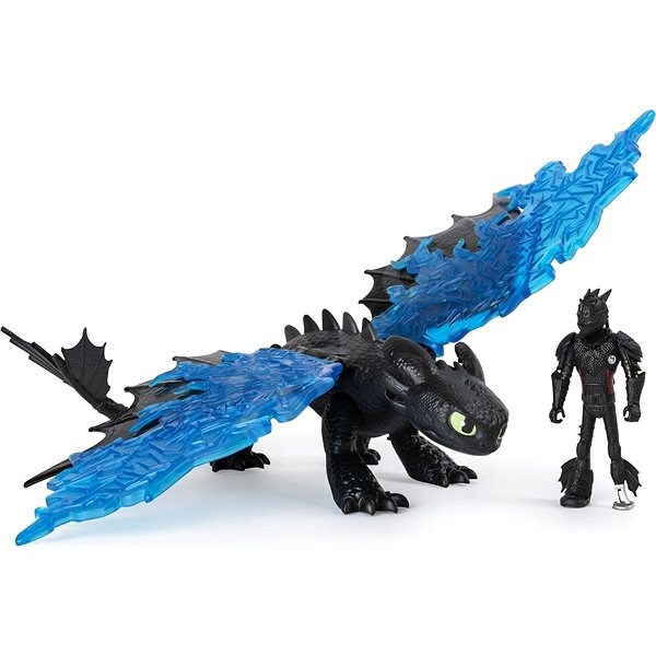 Draci 3 Drak a viking - Hiccup & Toothless - Figurka
