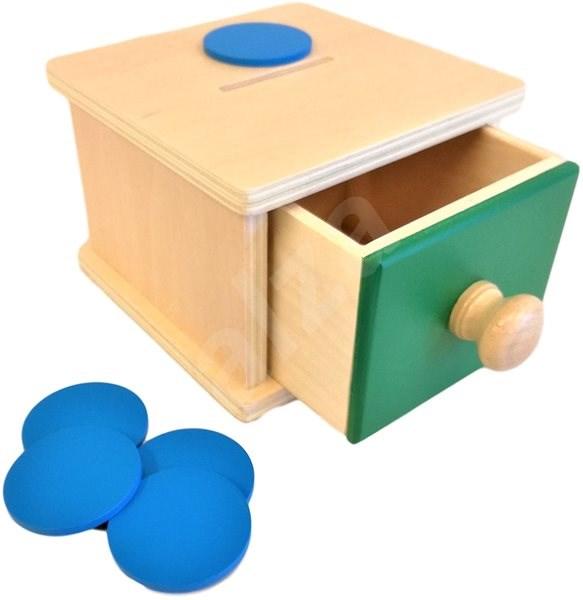 Kojenecká kasička - Didaktická hračka