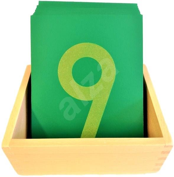 Smirkové číslice s krabičkou - Didaktická hračka